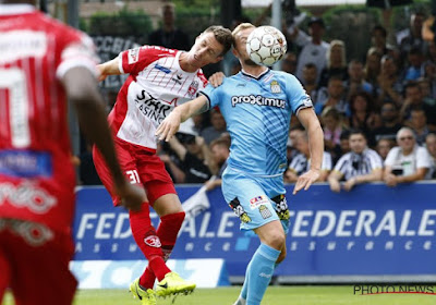 La sélection mouscronnoise pour le match contre l'Antwerp