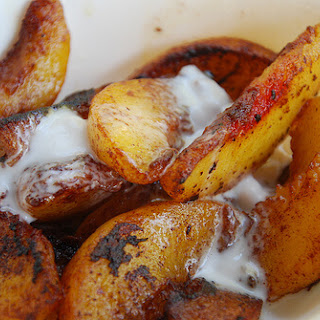 Caramelized Peaches & Cream (no sweeteners or dairy!!).