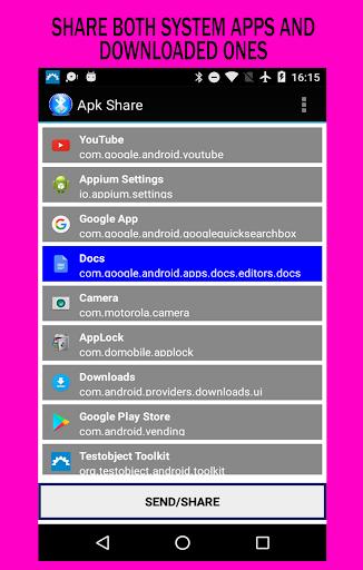 Download Apk Share / Bluetooth App Sender Google Play