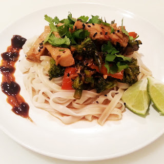 Thai Coconut Lime Stir Fry With Chicken