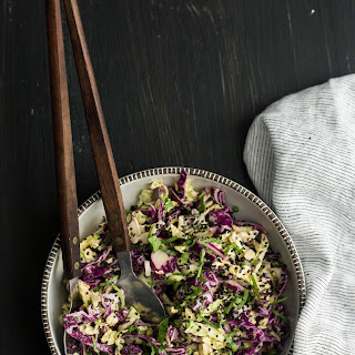 Tahini Cabbage Slaw Recipe