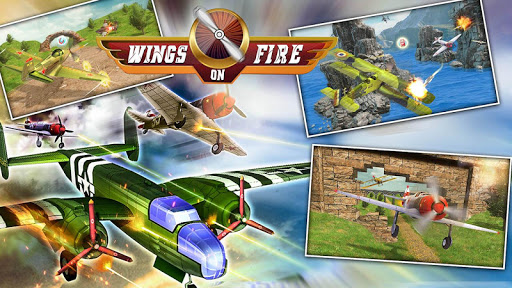 Wings of Fire - Drone Fly  Fighter 1.2 screenshots 6
