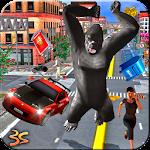 Angry Gorilla City Attack Icon