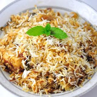 HYDERABADI CHICKEN BIRYANI - A CLASSIC INDIAN