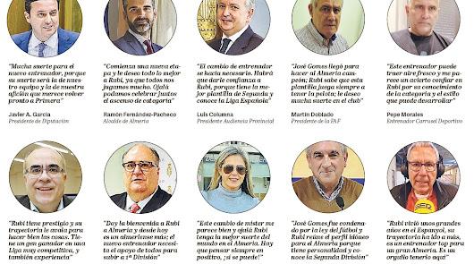 Almería confía en Rubi y en el ascenso