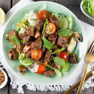 Thai Beef Salad.