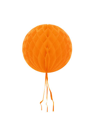 Dekorationsboll, orange