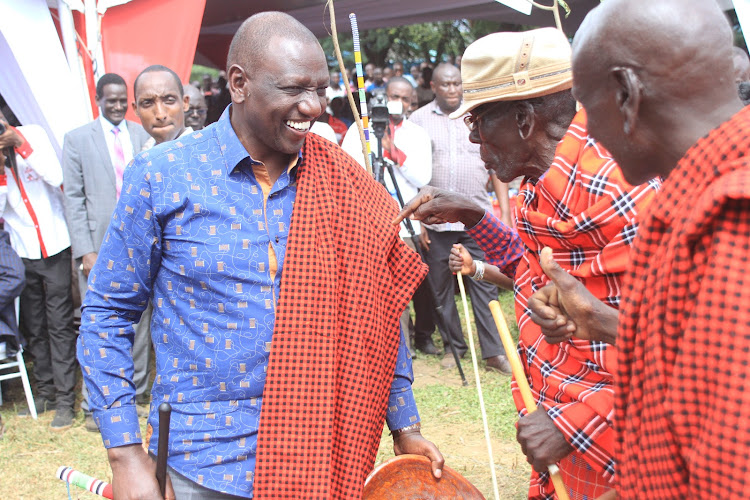 DP Ruto installed as Ilchamus elder, promised 2022 support