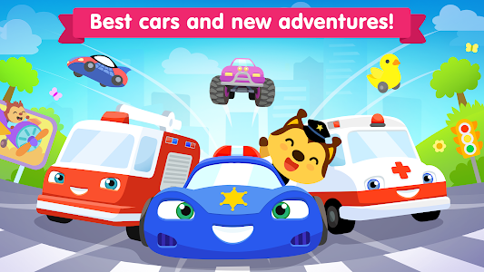 Car games for kids ~ toddlers game for 3 year olds 2.1.0