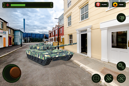 RC Tank Remote Control Sim AR. 0.1 screenshots 4