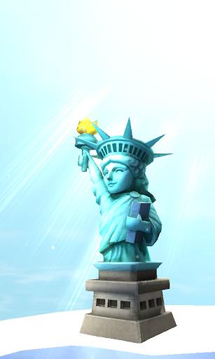 自由の女神3Dライブ壁紙