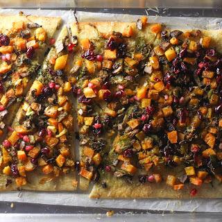Fall Veggie Pizza #SundaySupper