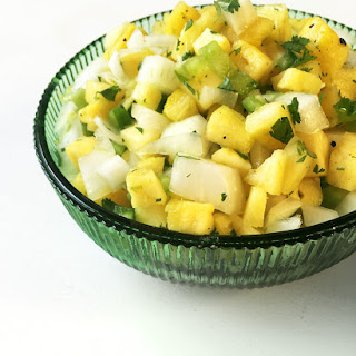 Pineapple Cilantro Salsa Recipe