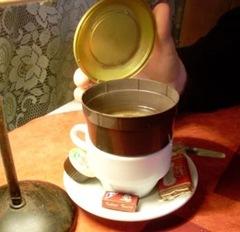 café ouvert