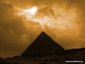 Photo: Giza Plateau, Egypt