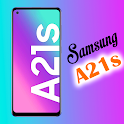 Samsung Galaxy A21s Launcher: Themes & Wallpapers icon