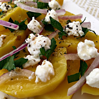 Red And Golden Beet Salad Recipes