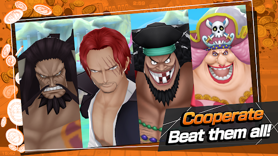 ONE PIECE Bounty Rush Mod Apk [No Skill CD + Dumb Enemy] 5