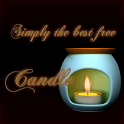 3D Candle icon