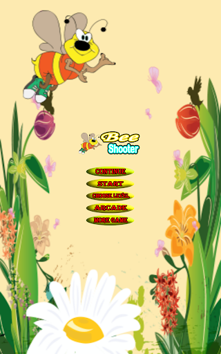 Bee Bubble Shooter Game