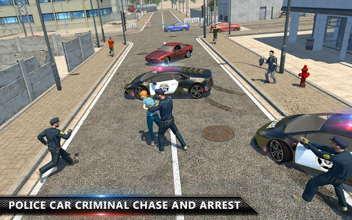 Cop Chase - Police Car Drifting Simulator 2018  screenshots 4
