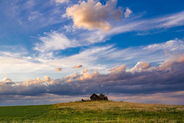 Abandoned barn, North Dakota di FabioClock