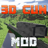 3D Guns Mod for Minecraft Pro!