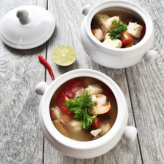 Thai Lemongrass Soup.