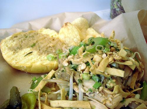 Chinese Chicken Salad Sandwich Recipe