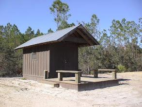 Photo: Shooting range shack