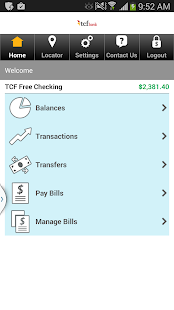 TCF Bank Mobile- screenshot thumbnail