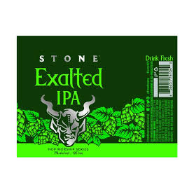 Logo of Stone Exalted IPA