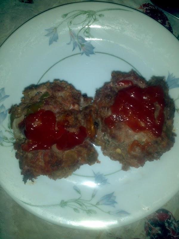 Muffin Tin Meatloaf W/salsa Recipe