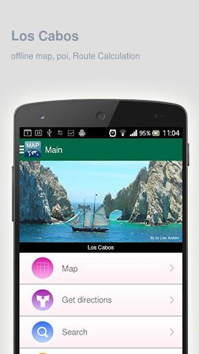 Los Cabos Map offline