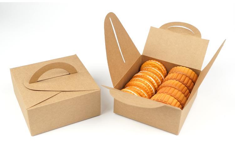 hộp đựng bánh ngọt bằng giấy