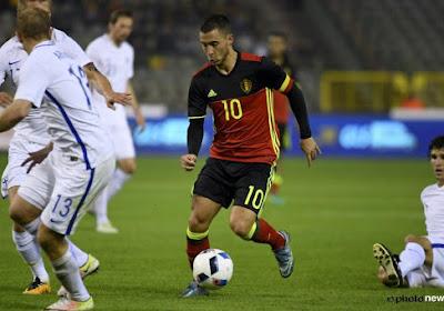 La Belgique avec ses deux capitaines à Bordeaux