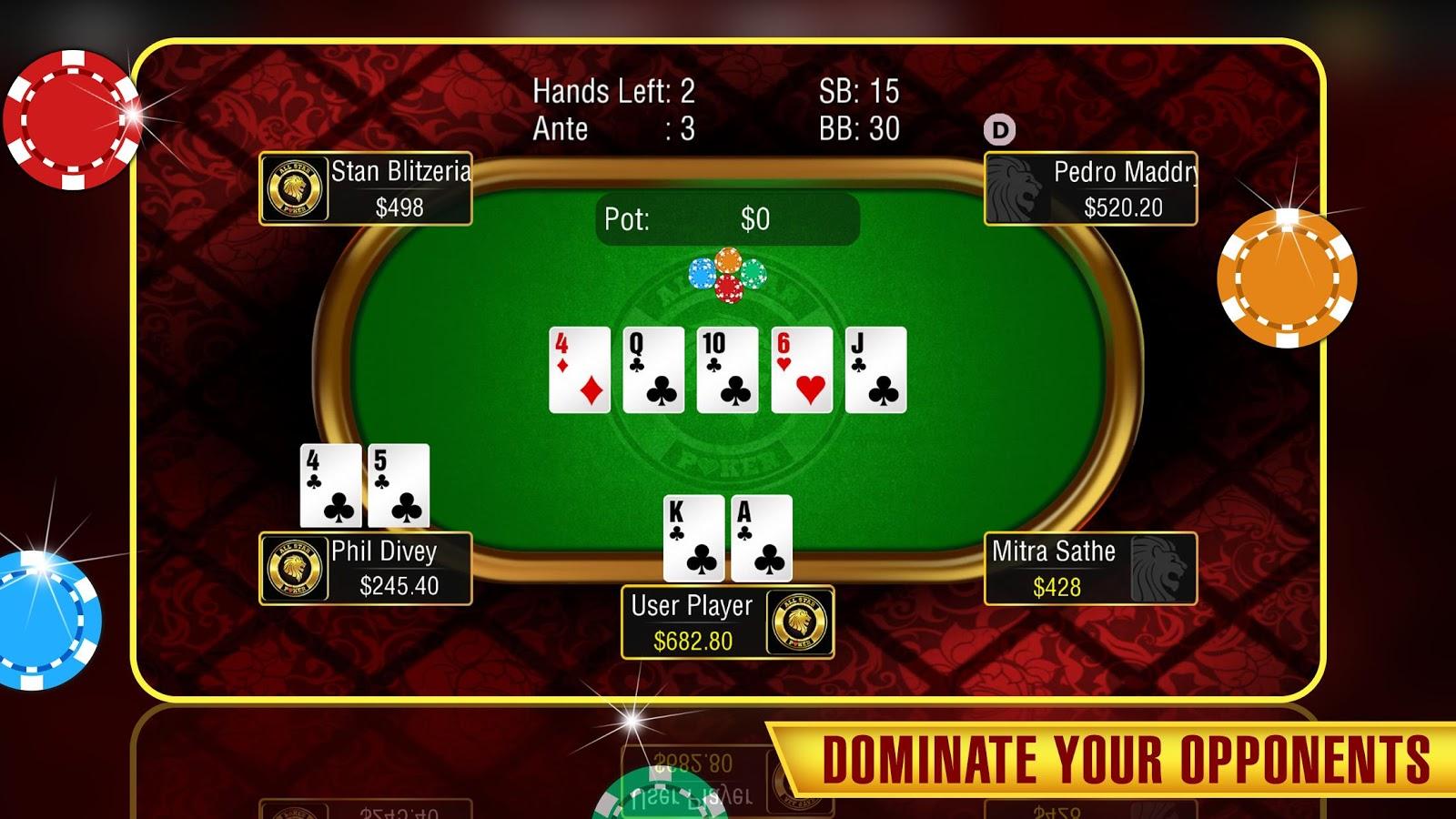 All star poker free