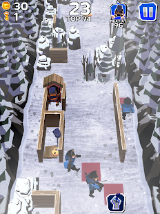 Winter Fugitives: stealth game- screenshot