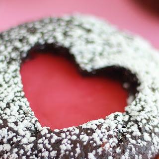 Heart Top Cupcakes.