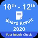 10th 12th Board Result,All Board Result 2020 icon