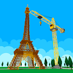 Eiffel Tower Builder : Metropolis Exploration Icon