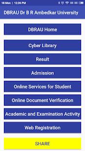 Dr B R Ambedkar University Agra DBRAU - náhled