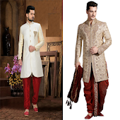 Dulha Shangar - Grooms Dress Shervani Groom Wear