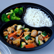 Black Bean Chicken with White Rice Combo