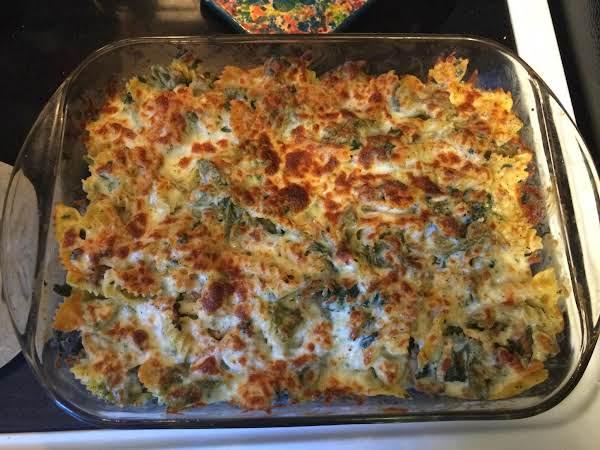 Sausage & Spinach Alfredo Casserole Recipe