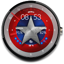 AMERICA - Watch face