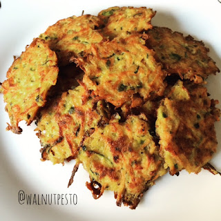 Zucchini and Carrot Fritters Recipe