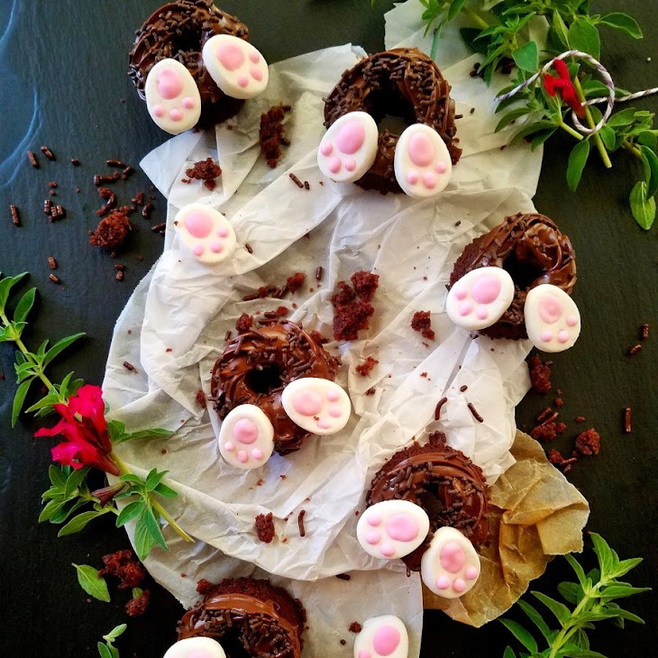 5-Ingredient Easter Rabbit Hole Cookies Recipe