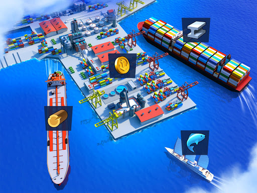 Sea Port: Cargo Ship & Town Build Tycoon Strategy filehippodl screenshot 11