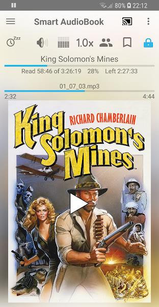 Smart AudioBook Player Screenshot Image